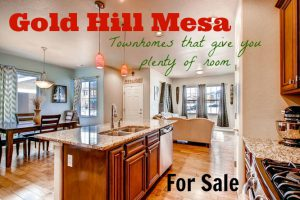 gold hill mesa townhomes that give you plenty of room kitchen photo