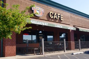 new day cafe outdoor patio