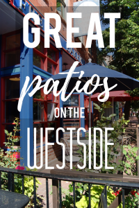 GREAT PATIOS ON THE WESTSIDE OF COLORADO SPRINGS
