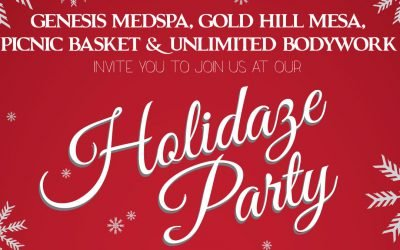 Holidaze Party in Gold Hill Mesa