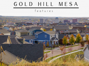 Gold Hill Mesa Features