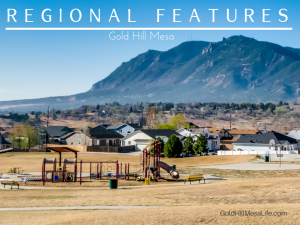 gold hill mesa colorado springs reagional features
