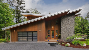 A photo of a Contemporary Style Home.